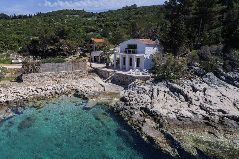 Luxury villa with pool on the island of Hvar, by the sea, Dalmatia, Croatia