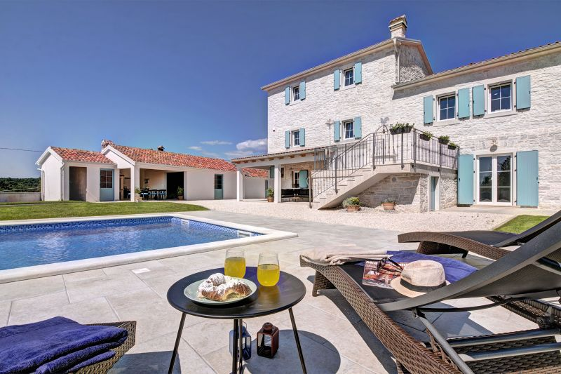 Stone Villa Milic with private pool Barat, Istria